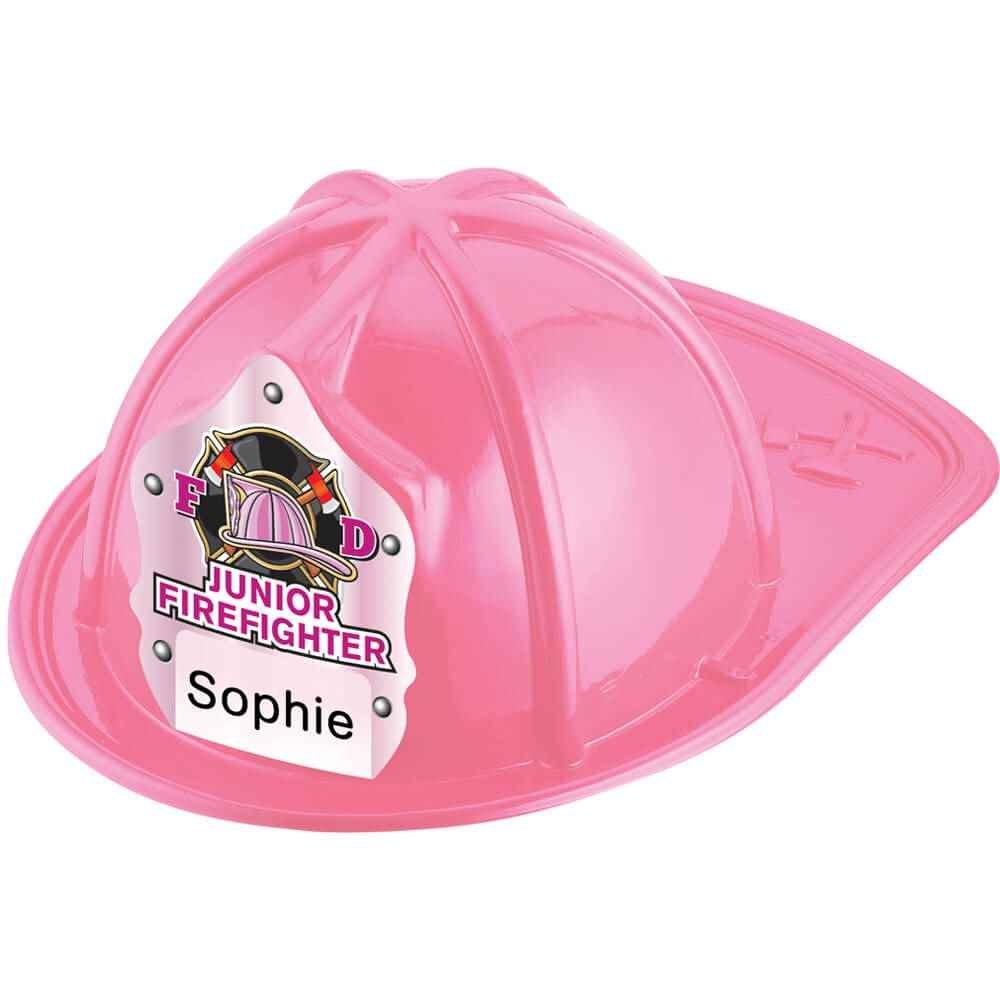 Write In Pink Junior Firefighter Hat