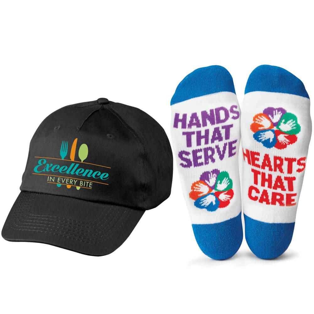 Food & Nutrition Services Baseball Cap & Socks Combo