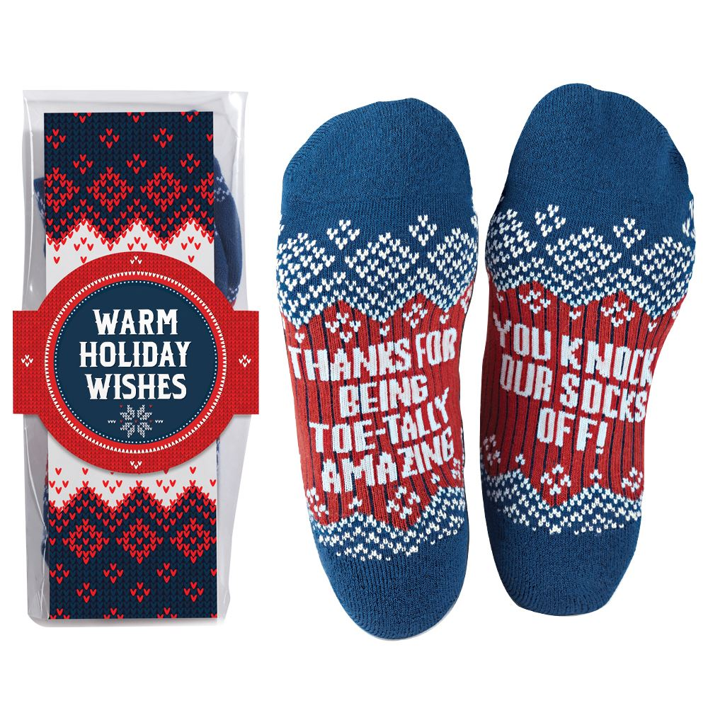 Thanks For Being Toe-tally Amazing, You Knock Our Socks Off!