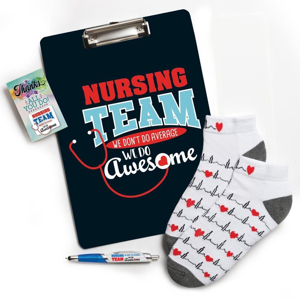 Nursing Team We Don't Do Average, We do Awesome Gift Set