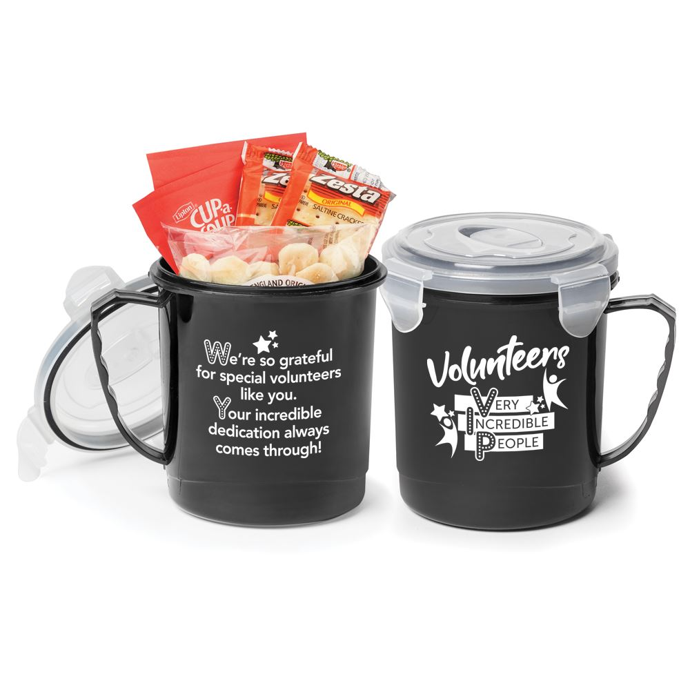 Volunteers: Very Incredible People Soup Mug Gift Set