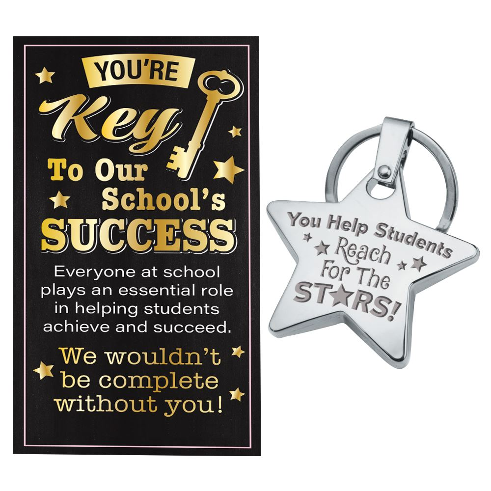 Star Key Tag With Keepsake Card