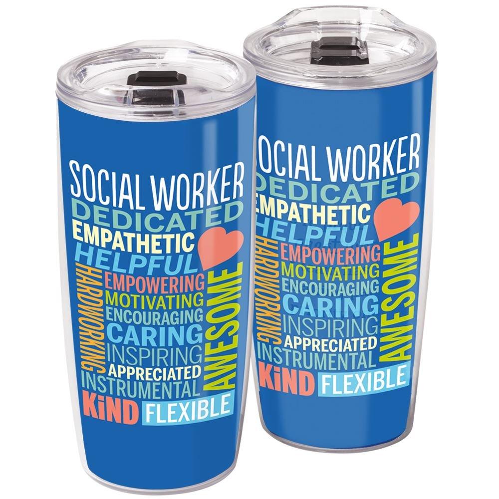 Social Worker Sierra Insert Tumbler 19 Oz.