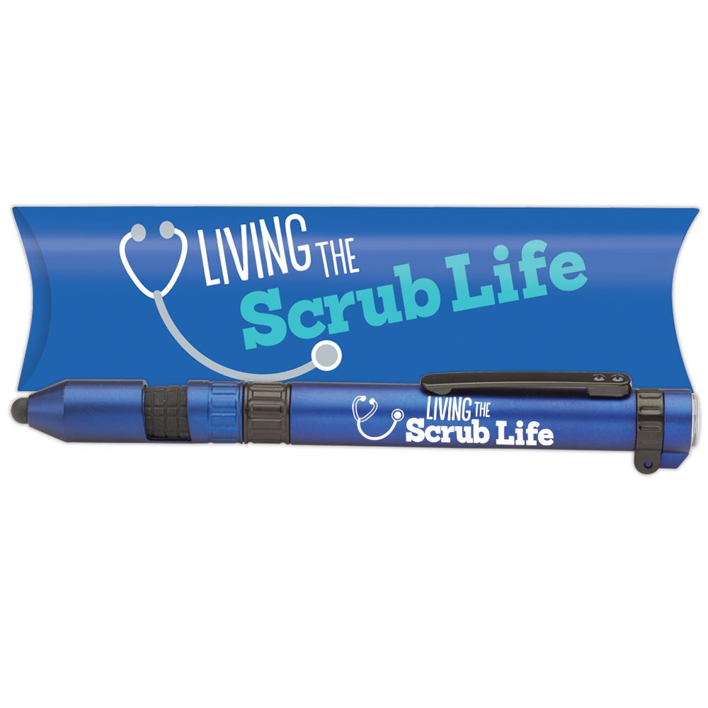 Living The Scrub Life 6-in-1 Dynamo Multi-Tool Pen