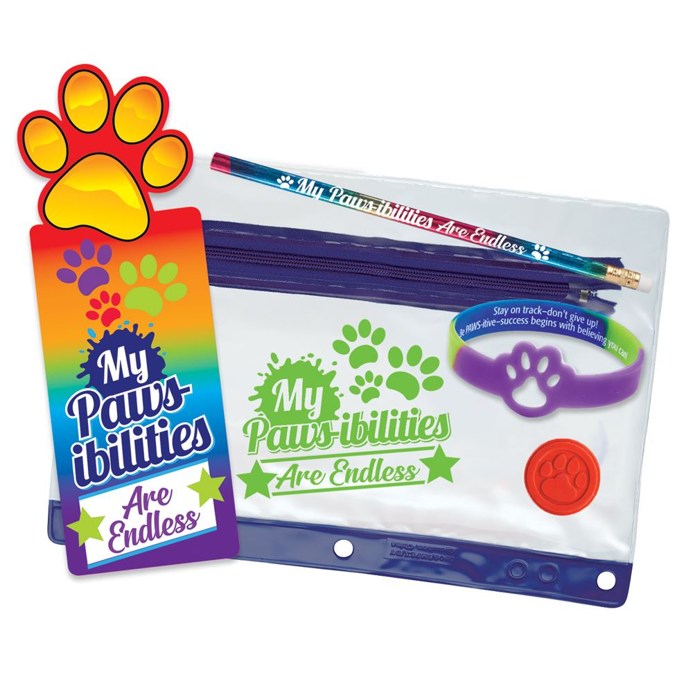 My PAWS-ibilities Are Endless    Test Prep Pencil Pouch