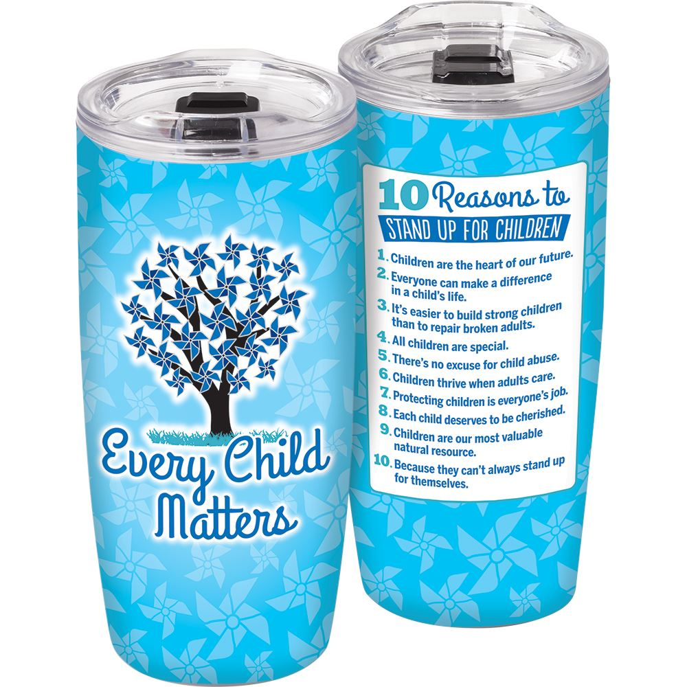 10 Reasons To Stand Up For Children 19-oz. Sierra Insulated Tumbler