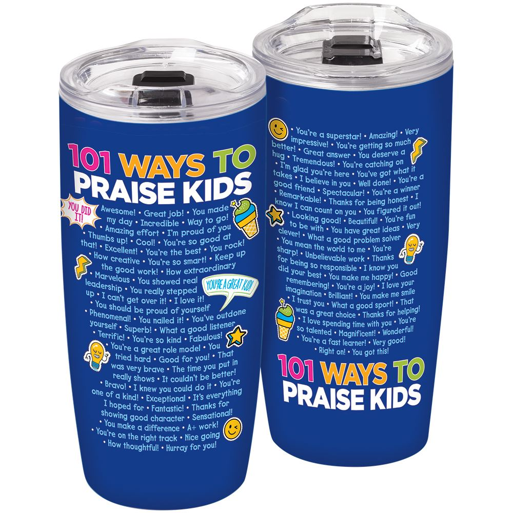 101 Ways To Praise Kids Sierra Insulated Tumbler 19-Oz.