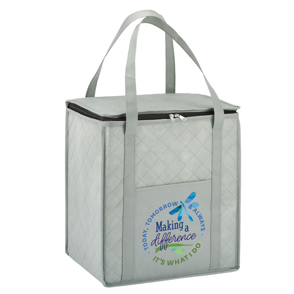 Making A Difference Today, Tomorrow & Always, It's What I Do Verona Non-Woven Shopper Tote Bag