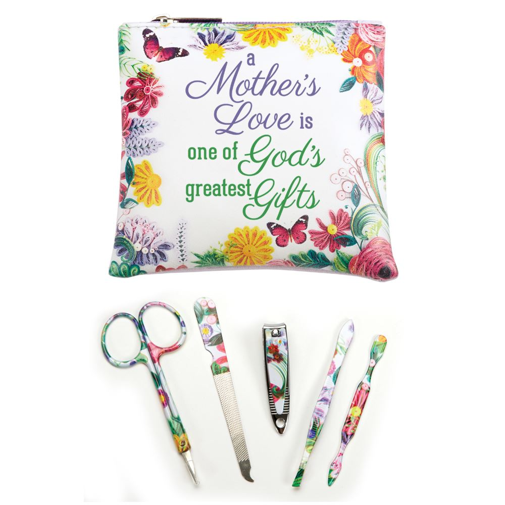 A Mother's Love Is One Of Gods Greatest Gifts Manicure Set