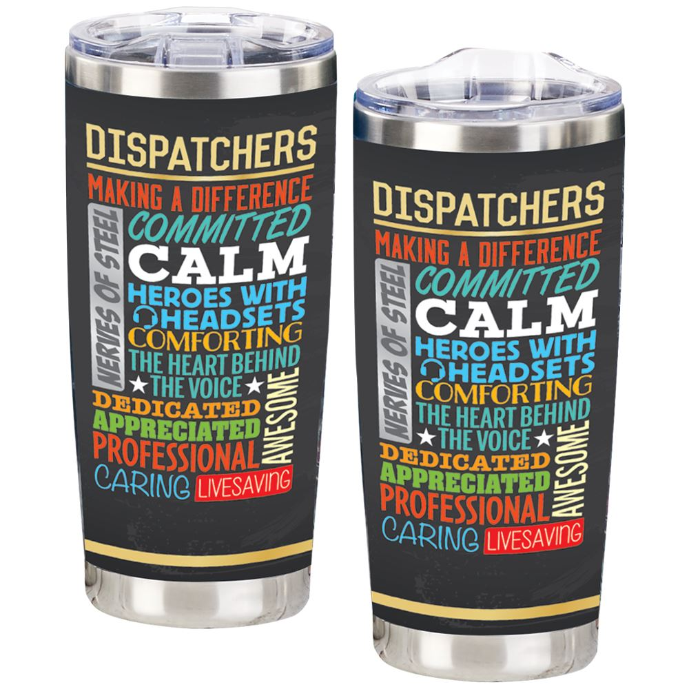 Dispatchers Full-Color Insulated Tumbler 20-Oz.
