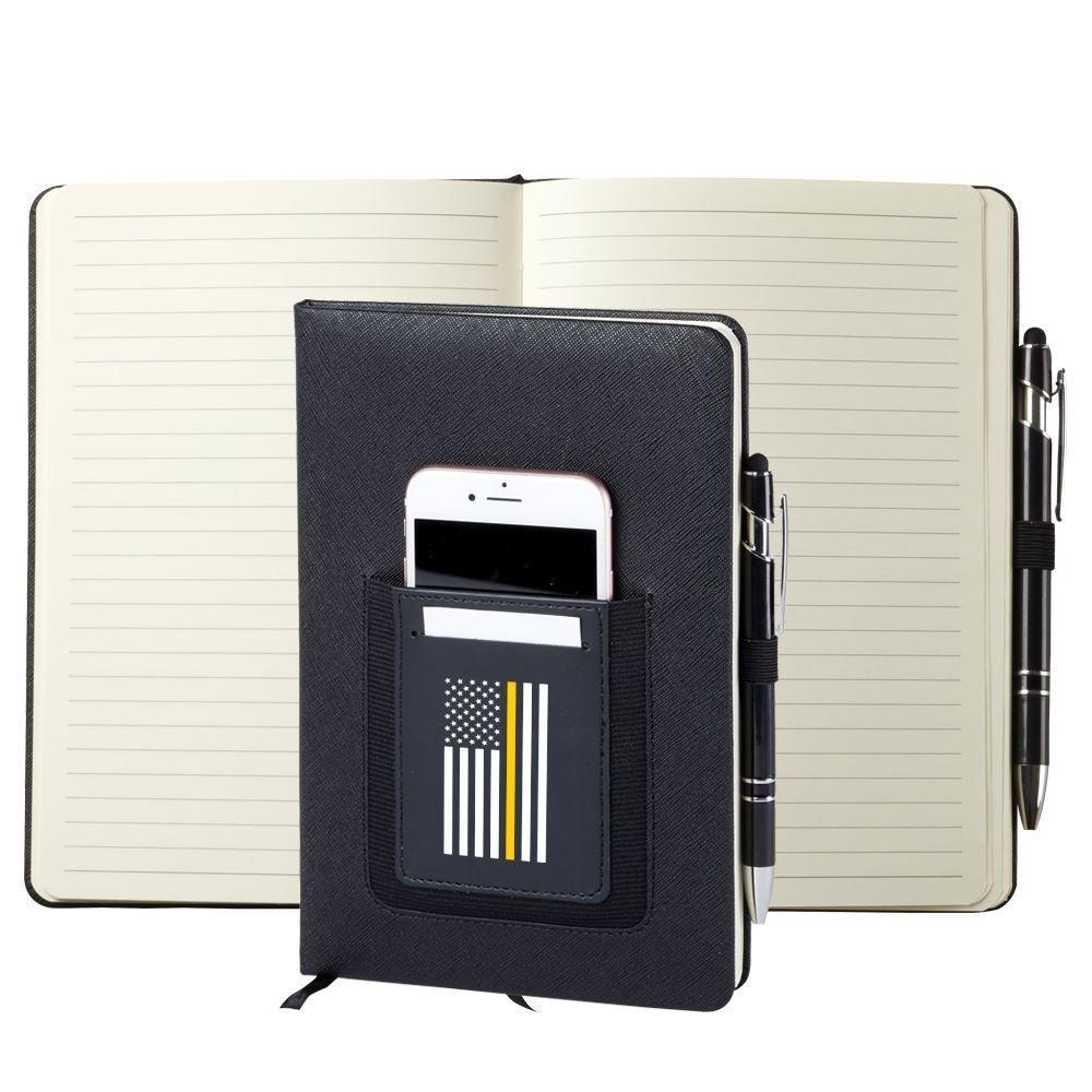 Thin Gold Line Northfield Phone Pocket Journal