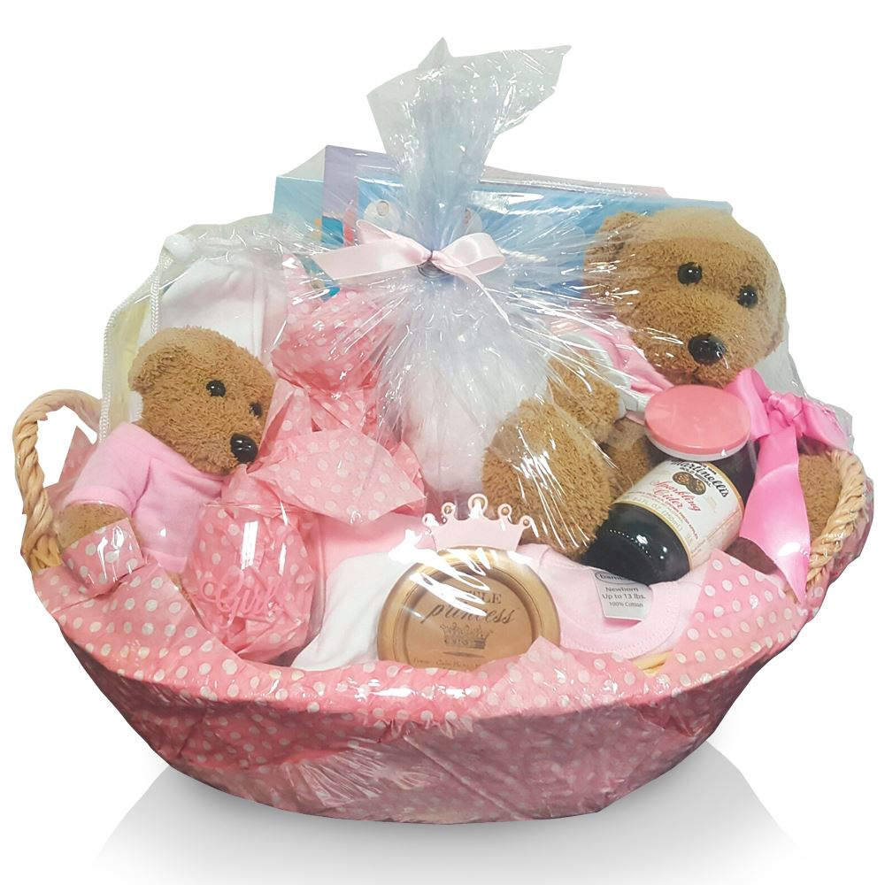 First Baby Girl Of The Year Basket