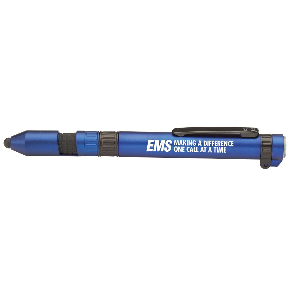 EMS Making A Difference One Call At A Time 6-In-1 Dynamo Multi-Tool Pen