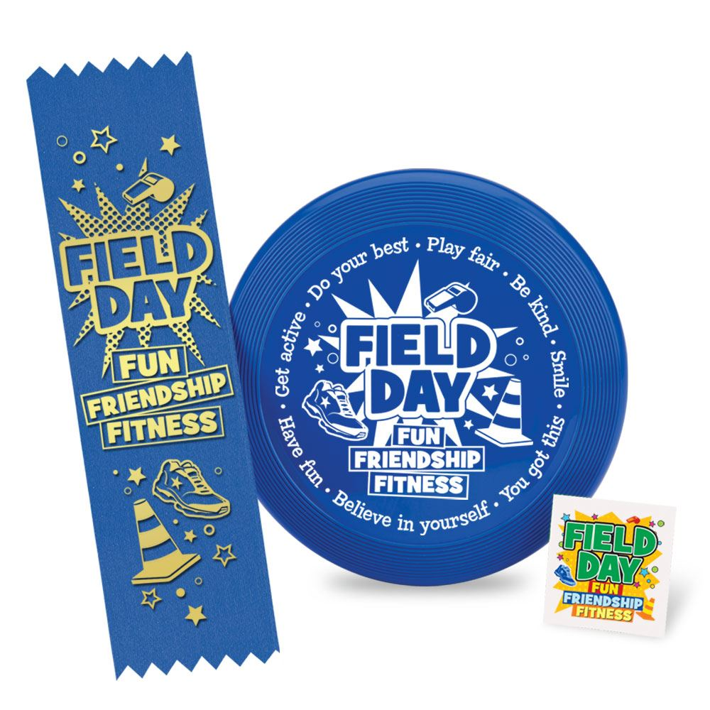 Field Day Fun, Friendship, Fitness Mini Flyer Fun Pack