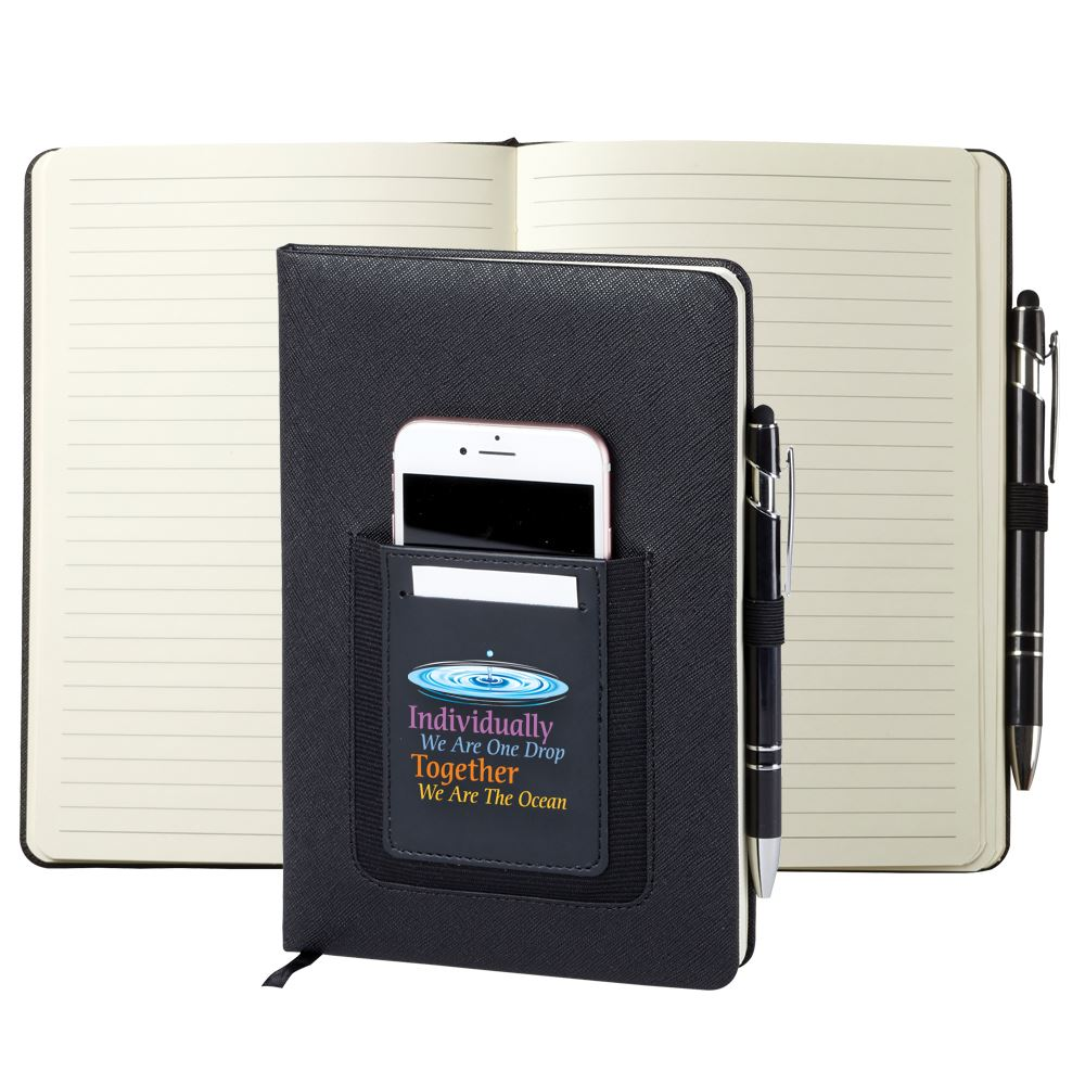 Individually We Are One Drop, Together We Are The Ocean Northfield Phone Pocket Journal