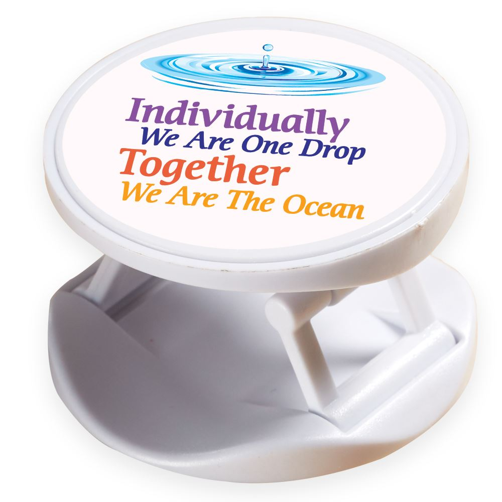 Individually We Are One Drop Together We Are The Ocean 3-In-1 Phone Buddy