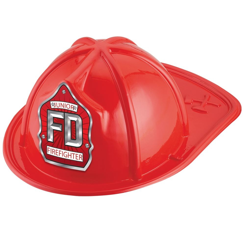 FD Junior Firefighter Hat (Red)