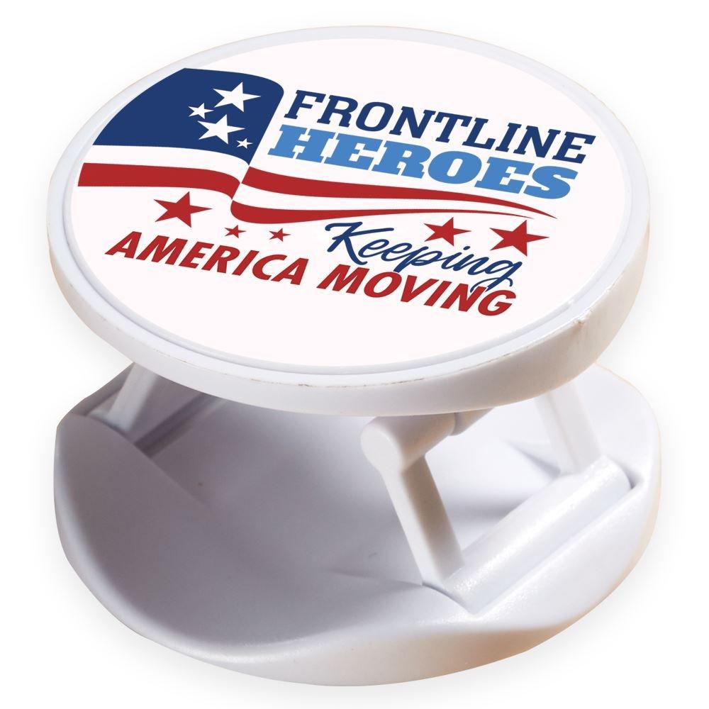 Frontline Heroes Keeping America Moving Proud To Keep America Going 3-In-1 Phone Buddy