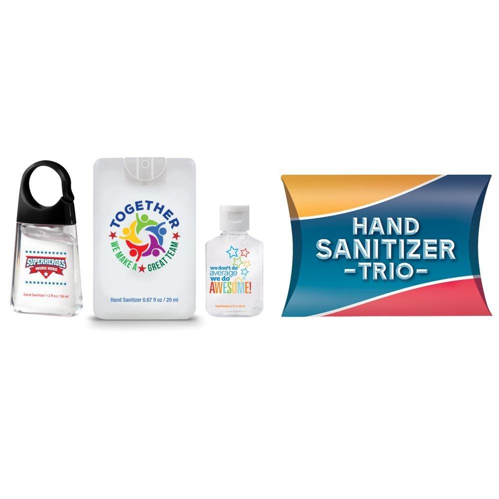 Positive Message Sanitizer Trio Teamwork