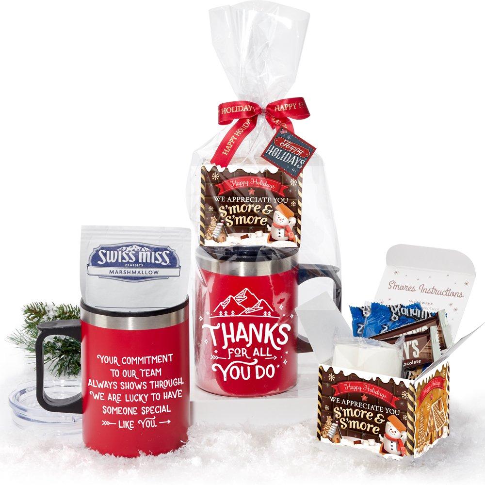 Thanks For All You Do You Sonoma Mug 12-Oz. & S'mores Gift Set With Holiday Gift Card