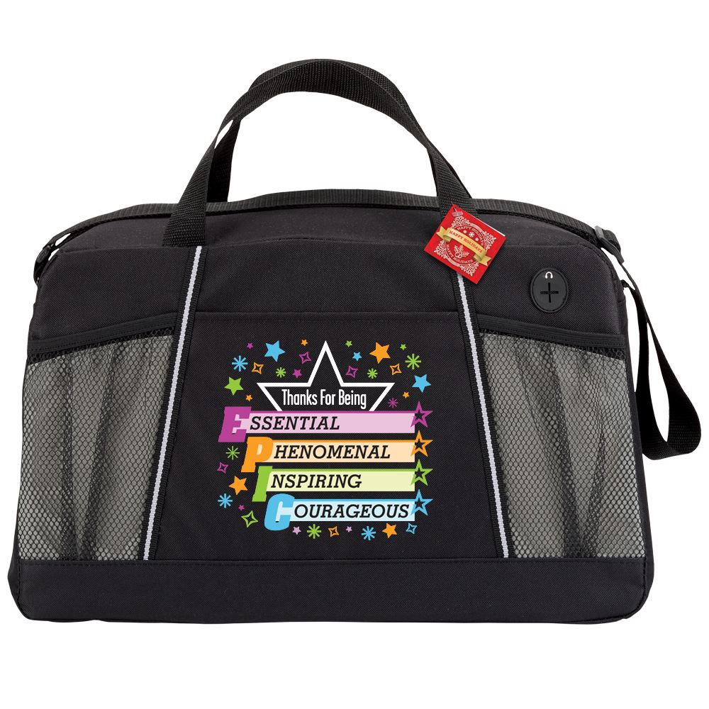 Thanks For Being EPIC Northport Duffel Bag With Holiday Gift Card
