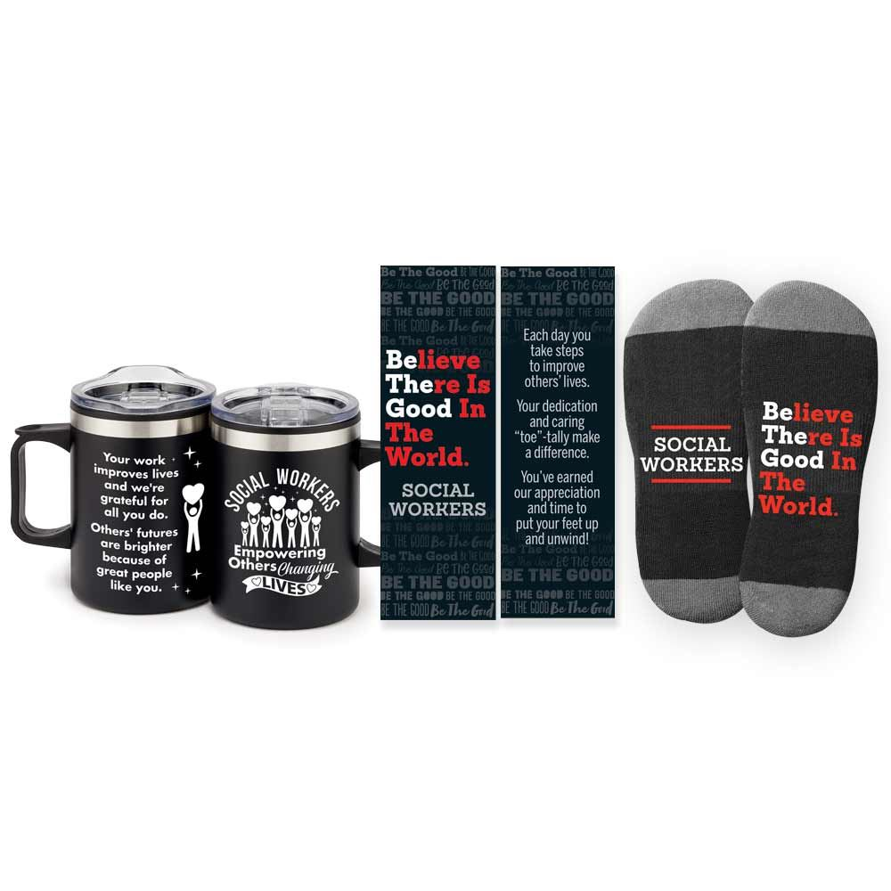 Social Workers Sonoma Mug & Socks Gift Set