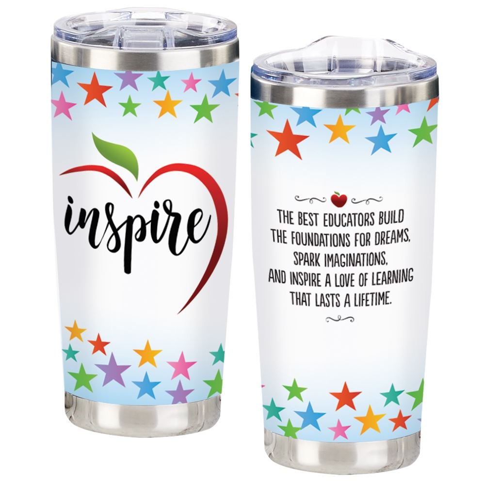 Inspire Full-Color Insulated Tumbler 20-Oz.