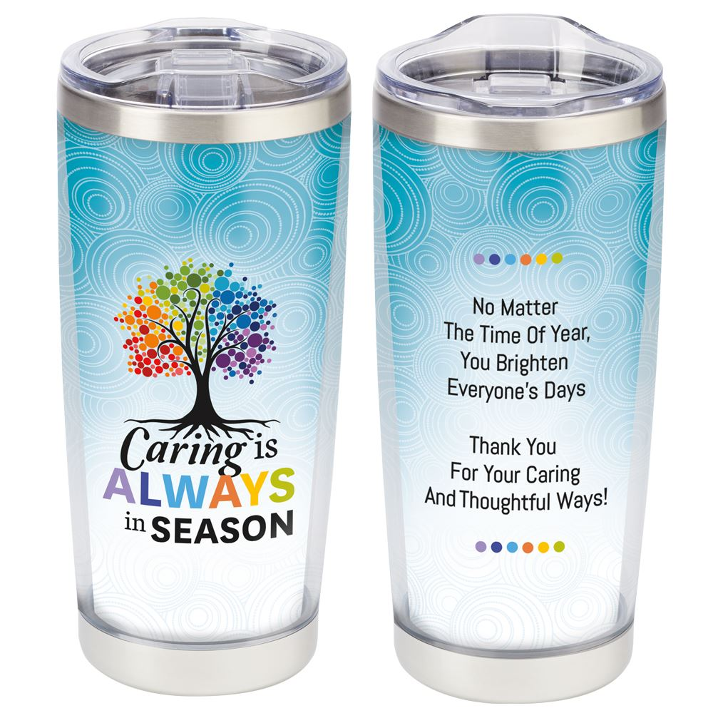 Caring Is Always In Season Full-Color Insulated Tumbler 20-Oz.