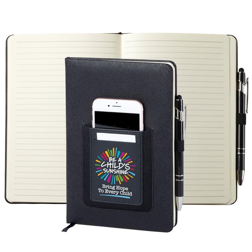 Be A Child's Sunshine Northfield Phone Pocket Journal