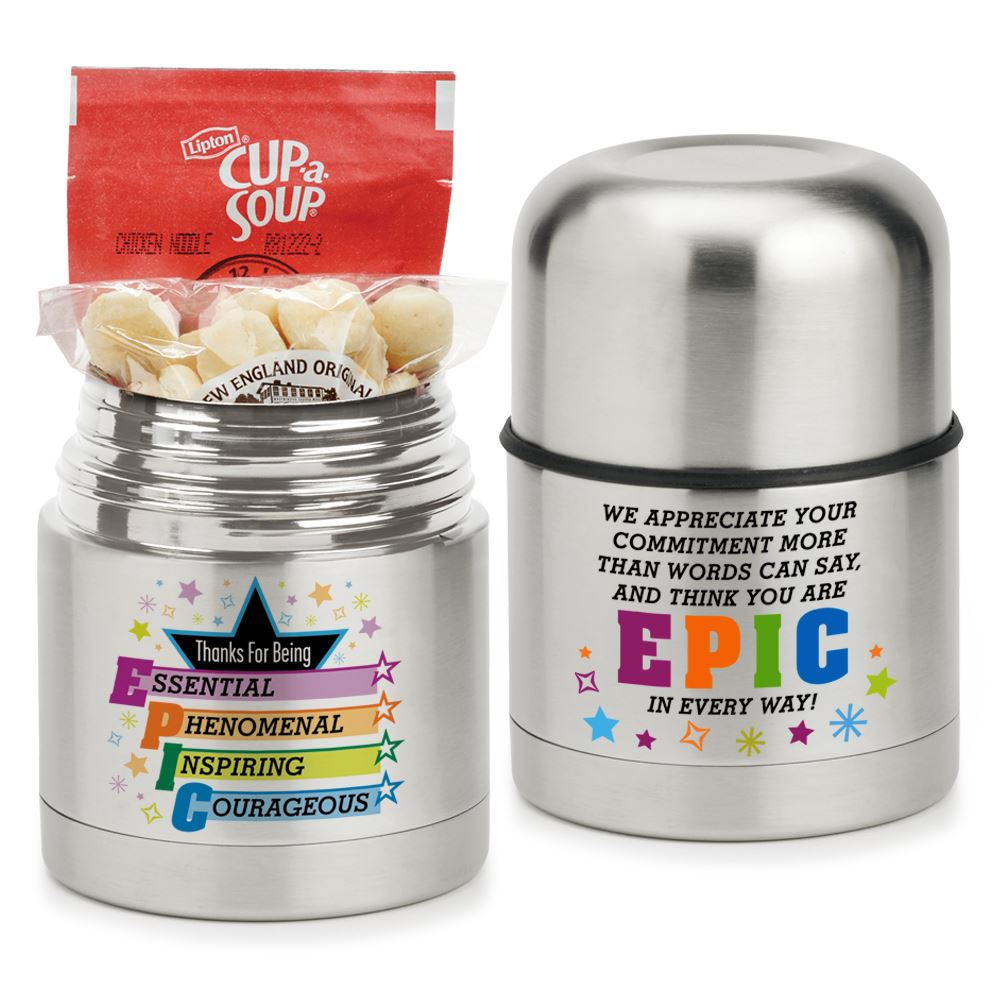 Thanks For Being EPIC - Stainless Steel Food Container Gift Set