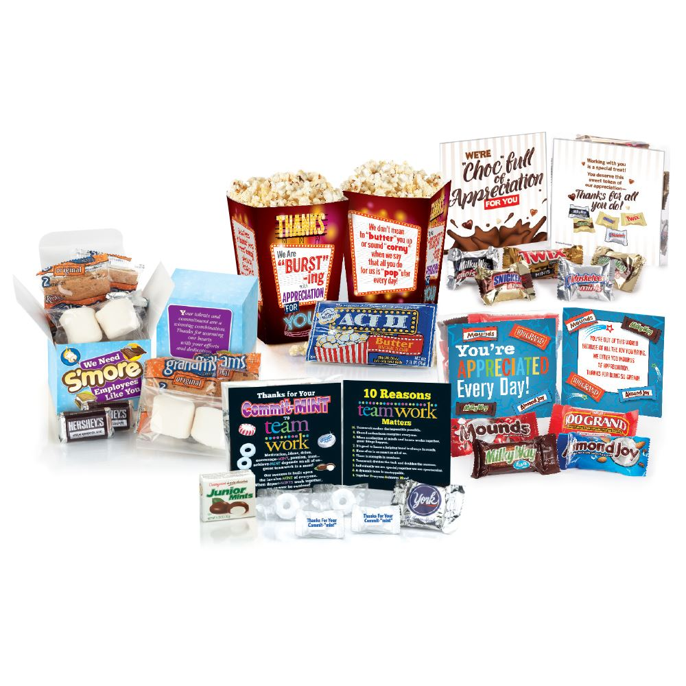 You're A Treat To Work With...Snack Attack Box