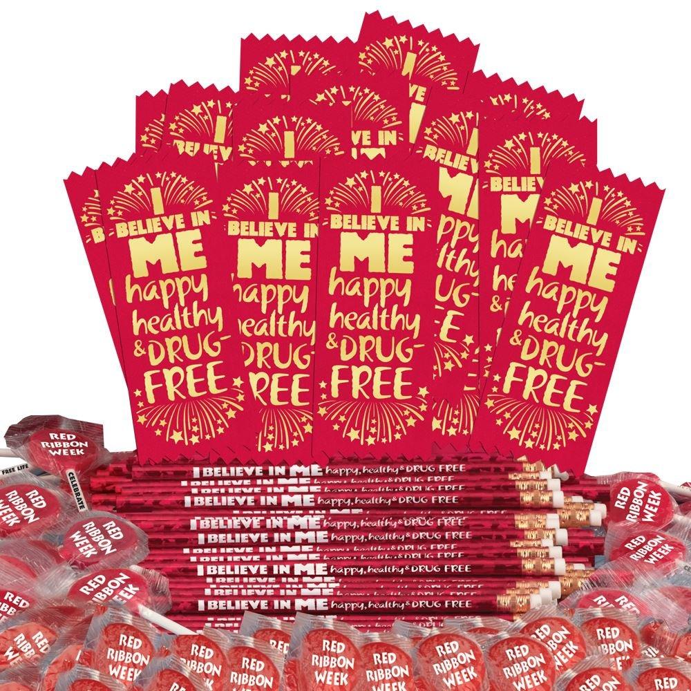 I Believe In Me: Happy, Healthy, & Drug Free 300-Piece Theme Kit