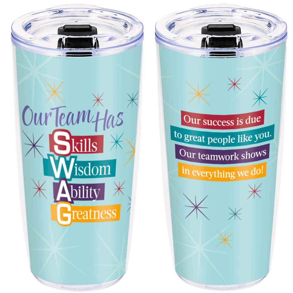 Our Team Has S.W.A.G. Full-Color Insulated Tumbler 19-Oz.