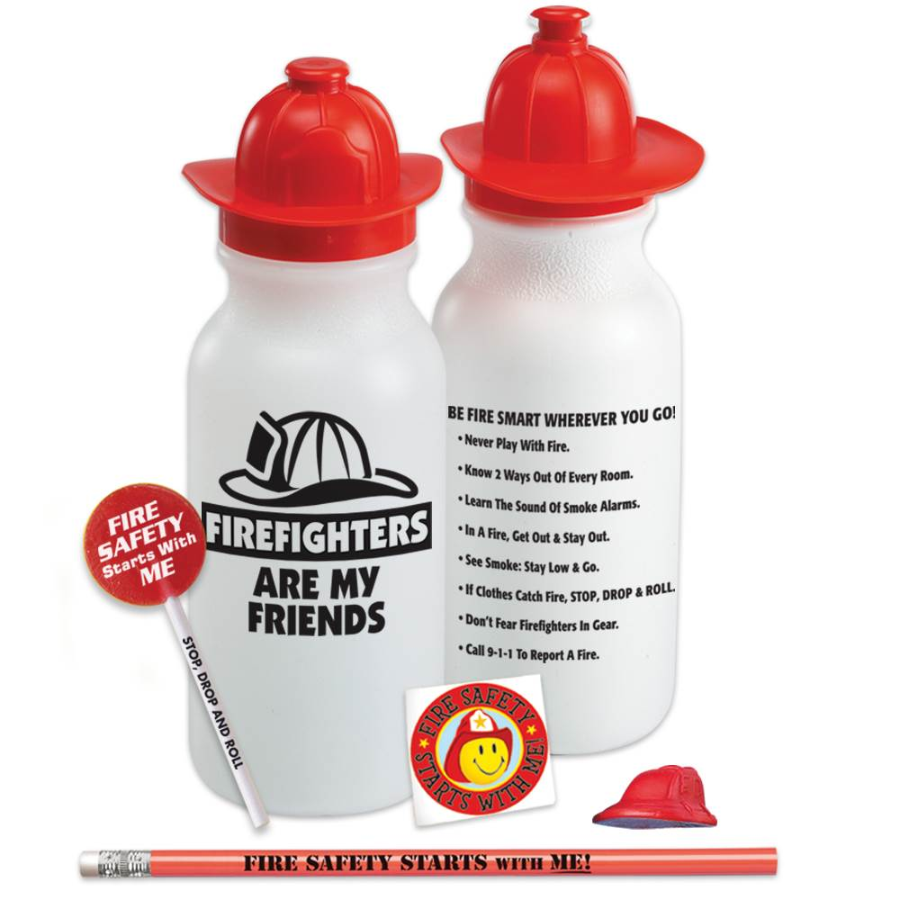 Firefighters Are My Friends Water Bottle Value Kit