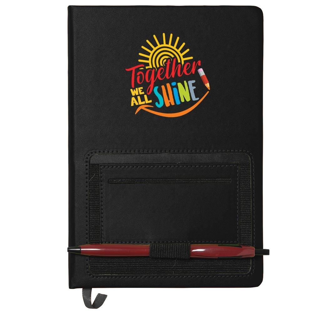 Together We All Shine Northfield Phone Pocket Journal