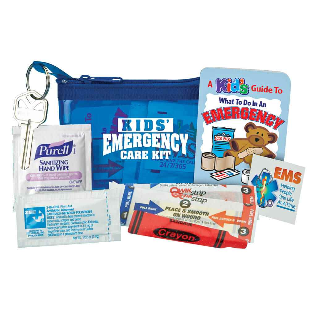 Kids' Emergency Care Kit - Personalization Available