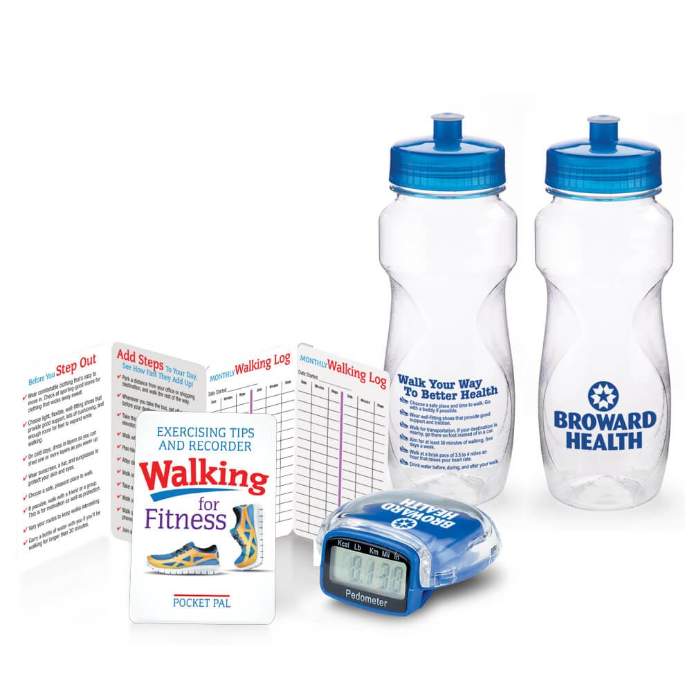 Walking For Wellness Trio - Personalized