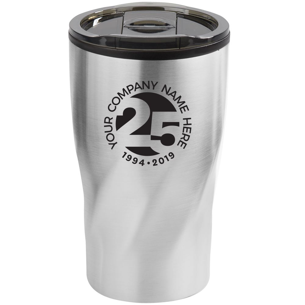 25th Anniversary Coffee-To-Go Black K-Mug Gift Set - Personalization Available
