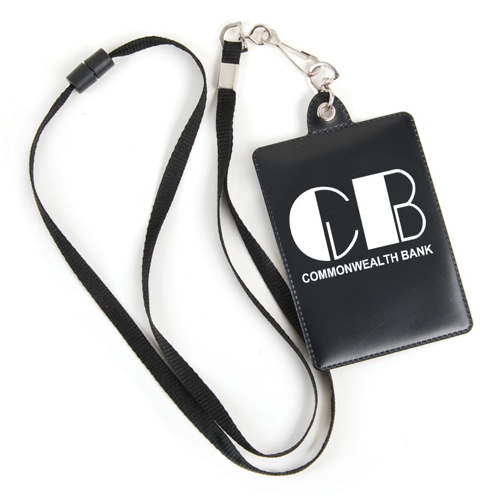 Combo ID/Badge Holder With Lanyard - Personalization Available