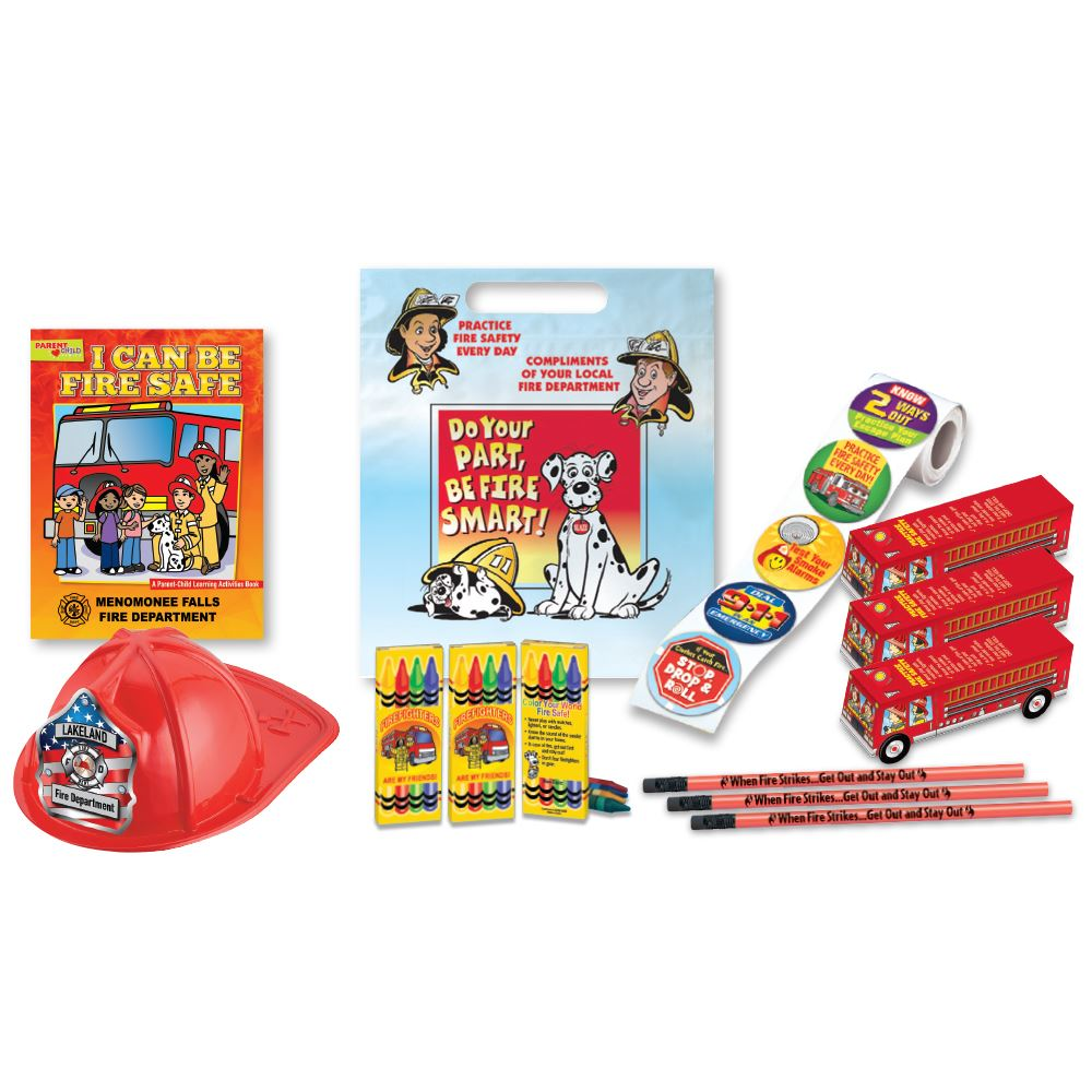 Fire Prevention Deluxe 800-Piece Custom Open House Kit