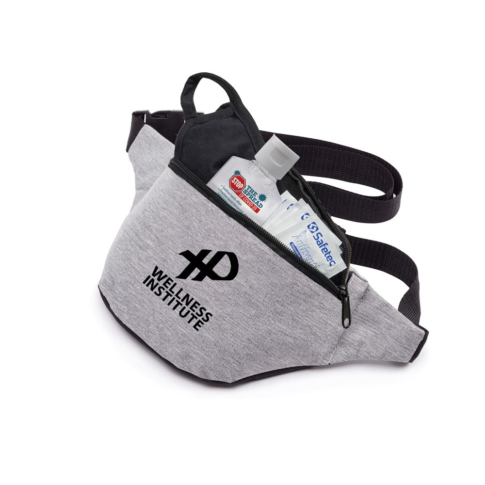 On-The-Go Self-Protection Fanny Pack Kit - Personalization Available