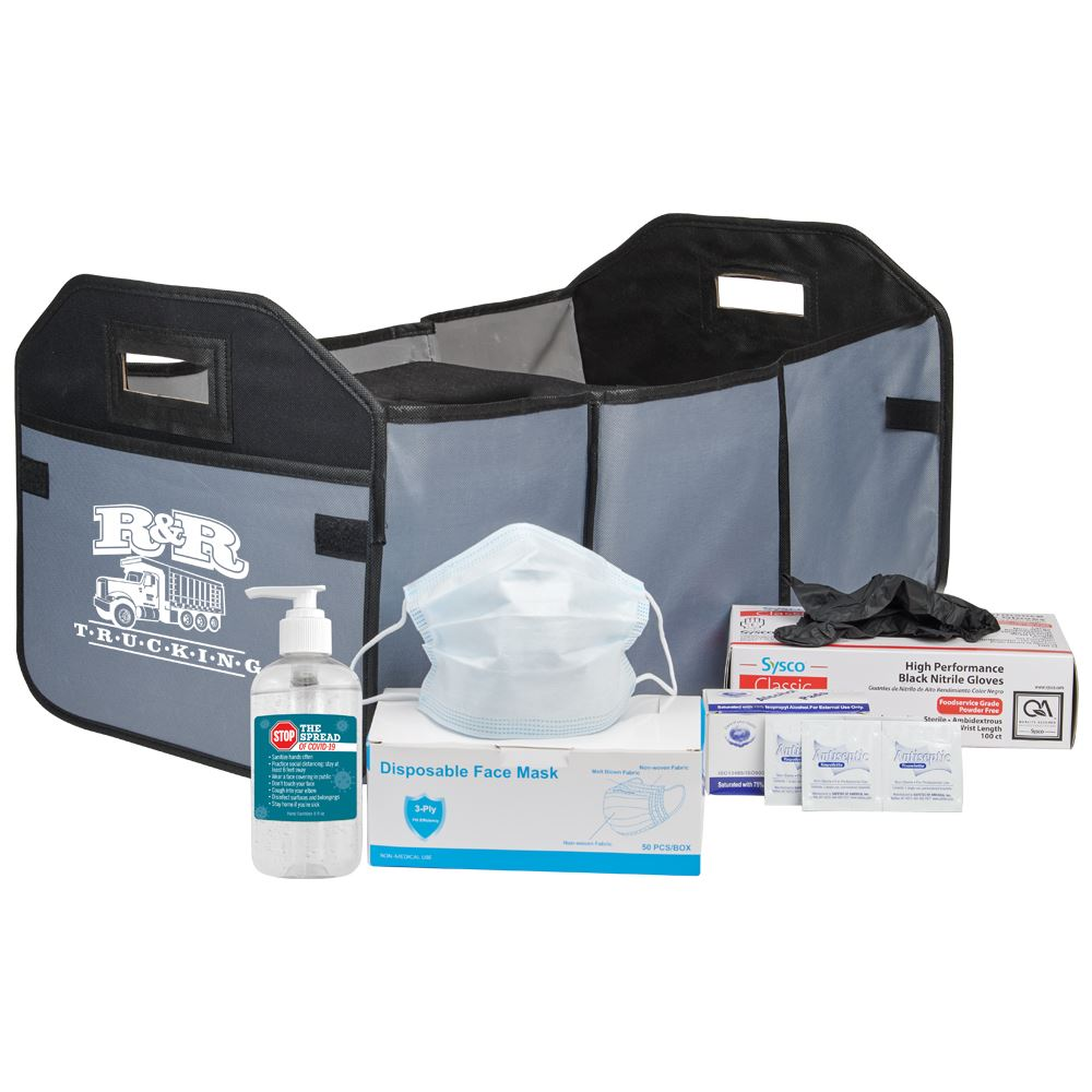 Organizer & Cooler PPE Kit - Personalization Available