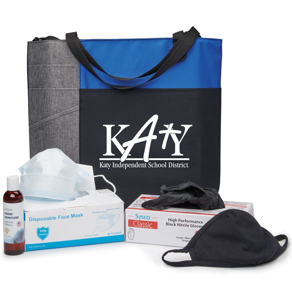 PPE Tote Bag Commuter Kit - Personalization Available