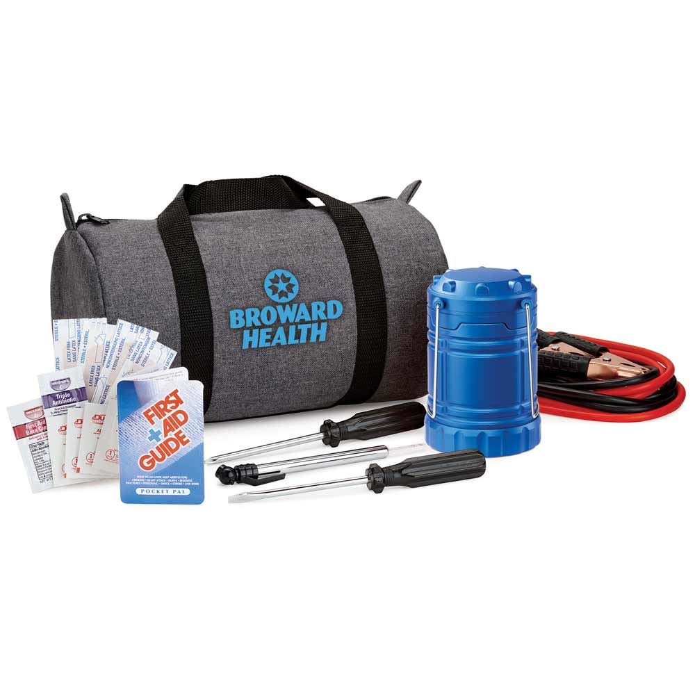 Deluxe Auto Emergency Kit - Personalization Available