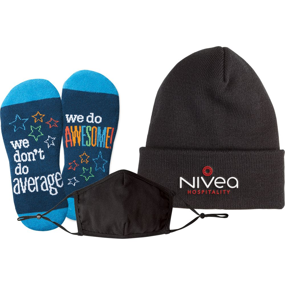 3-In-1 Winter Warmth & Wellness Kit - Personalization Available
