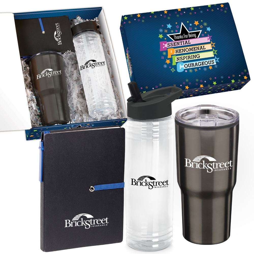 Thanks For Being EPIC 3-Piece Appreciation Care Kit - Personalization Available