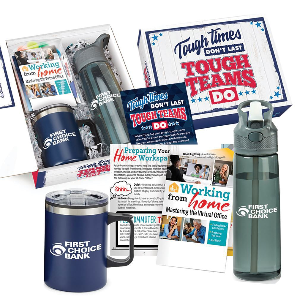 Tough Times Don't Last, Tough Teams Do 7-Piece Employee Care Kit - Personalization Available