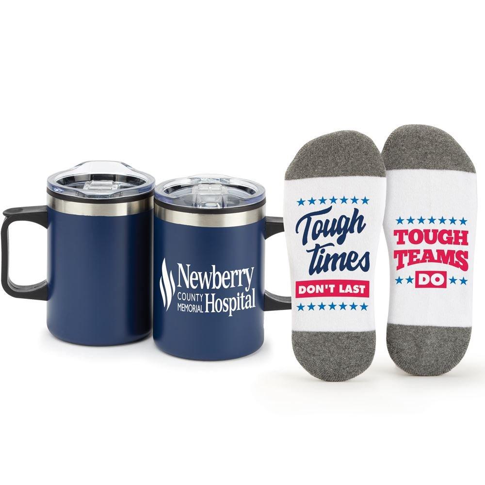 Tough Times Don't Last Tough Teams Do Sonoma Mug & Socks Gift Set - Personalization Available
