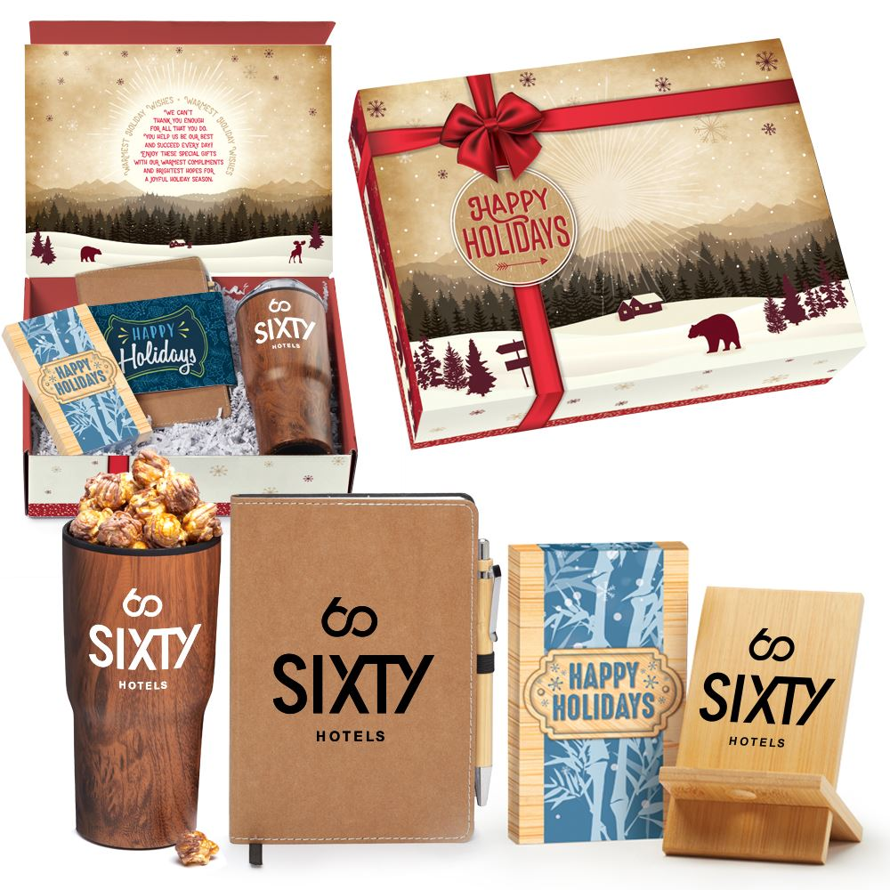 Woodland Treasures Gift Set In Holiday Gift Box - Personalization Available