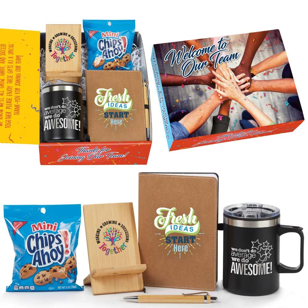 Welcome To Our Team 4-Piece Onboarding Kit�- Card Personalization Available